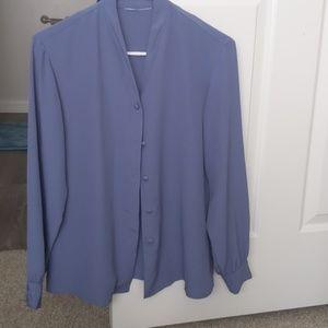 Periwinkle blue blouses